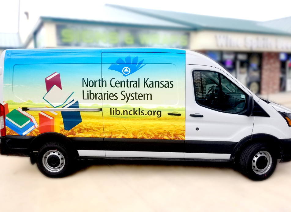 Rotating Book Van